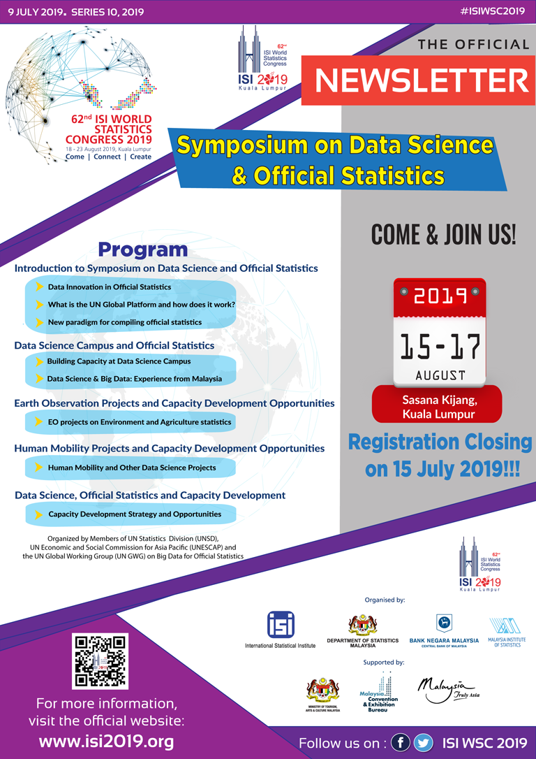 Bulletin & Newsletter – ISI WSC 2019